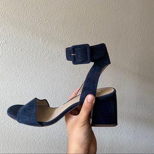 Louise Et Cie Blue Velvet Kaden Sandal